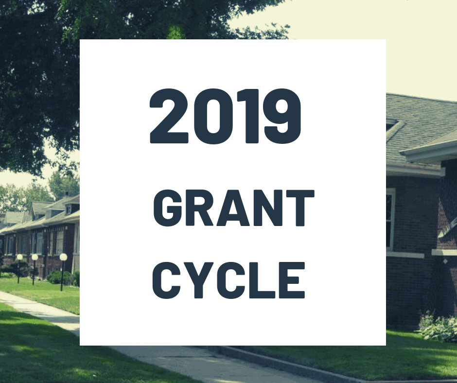 Our 2019 Grant Cycle