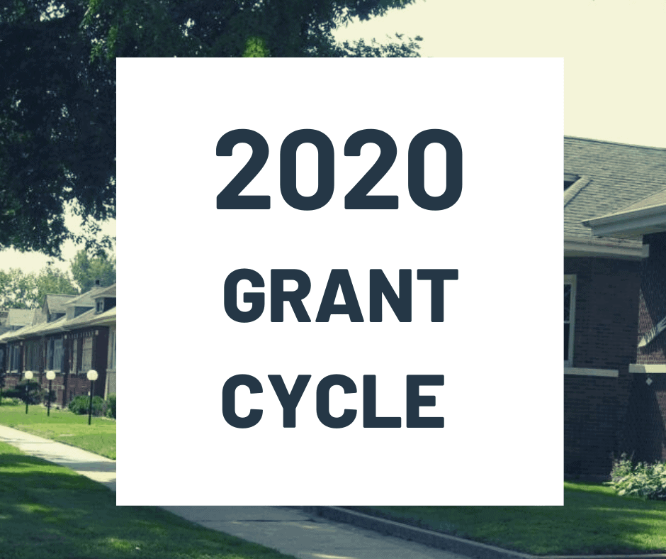 2020 Grant Cycle