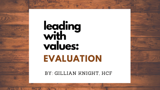 Leading with Values: Evaluation